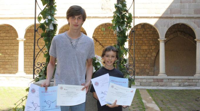 Dos Alumnes De L'Escola Reben Menció Honorífica A Les Proves Cangur